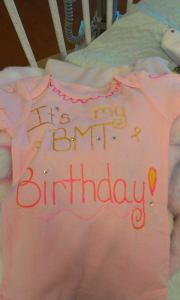 My'isha's B.M.T bithday was on her actual 2nd birthday.
