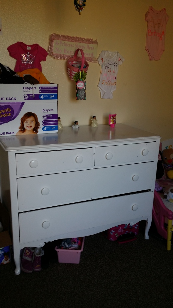 Free dresser I found on Craig's List